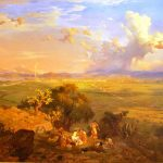 Painting of a Mexican landscape